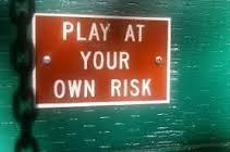spelen op eigen risico